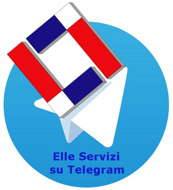 Elle Servizi da oggi è su Telegram !!!