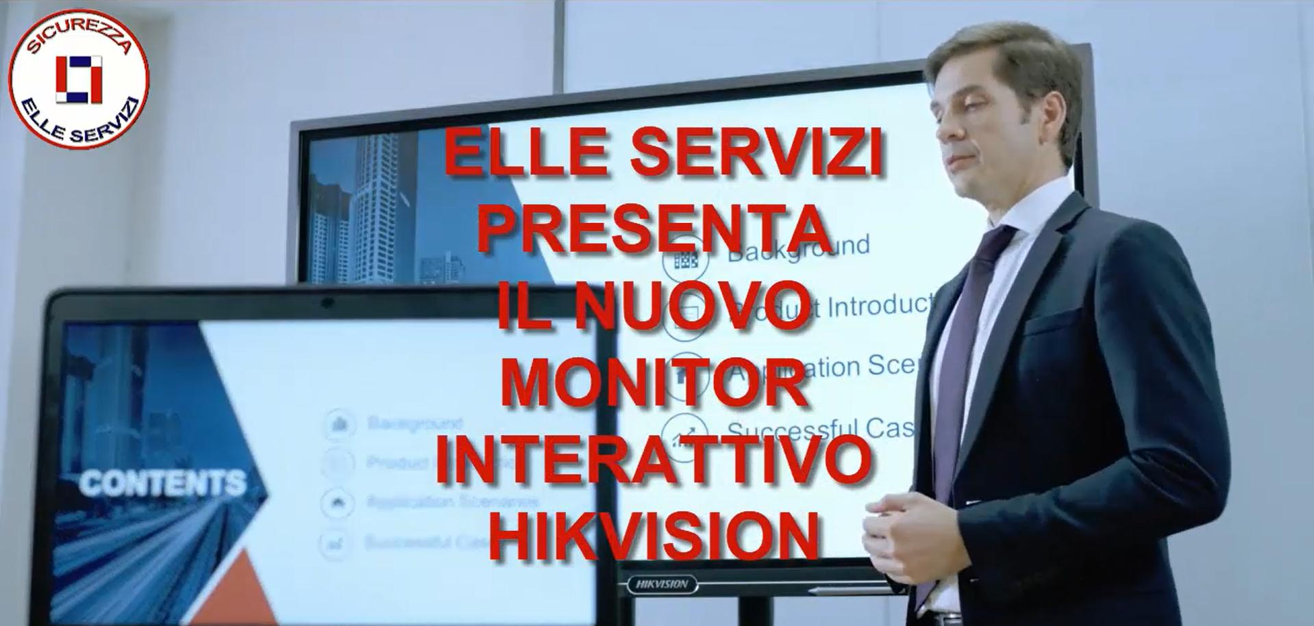 Interactive Monitor
